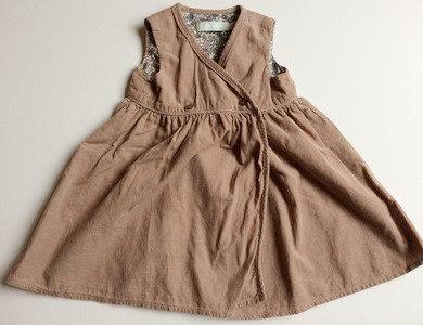 LEIGH TUCKER WILLOW PreLoved hazel wrap dress | 9-12 months