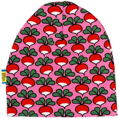 DUNS Sweden organic Double Layer Hat Radish   Pink