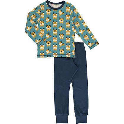 MAXOMORRA organic Pyjama Set Long Sleeve | Lively Linx