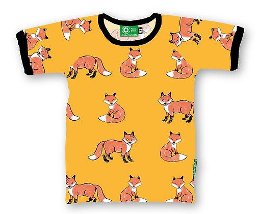 NAPERONUTTU organic Short Sleeve Top | Fox