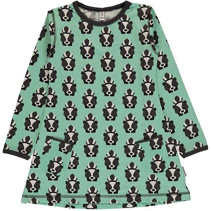 MAXOMORRA organic Long Sleeve Tunic | Skunk