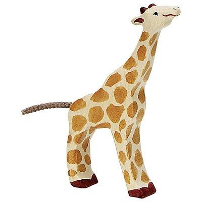 HOLZTIGER Giraffe, Small, Head Raised