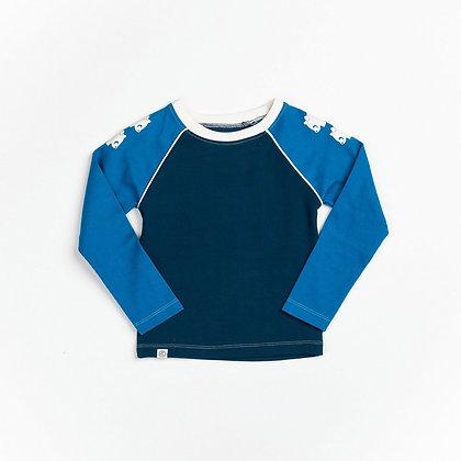 ALBA of Denmark Leander Blouse | Mykonos Blue