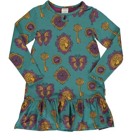 MAXOMORRA organic Long Sleeve Frill Dress   Vintage Treasures