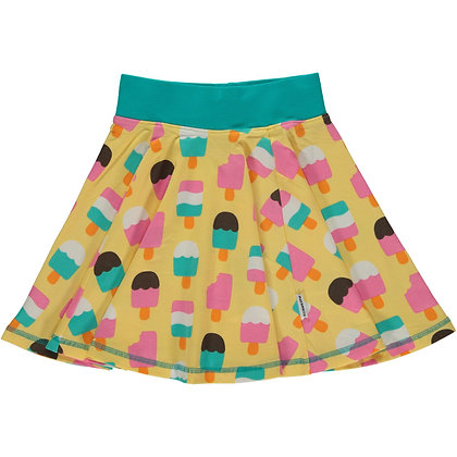 MAXOMORRA organic Skirt Spin | Ice Cream Yellow