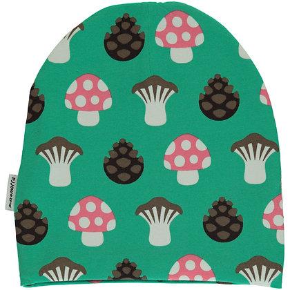 MAXOMORRA organic Hat (Velour Lining)   Mushroom