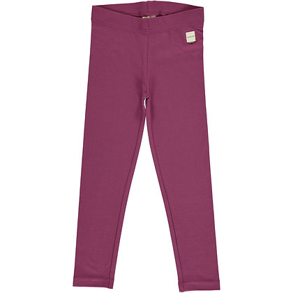MAXOMORRA organic Leggings | Plum