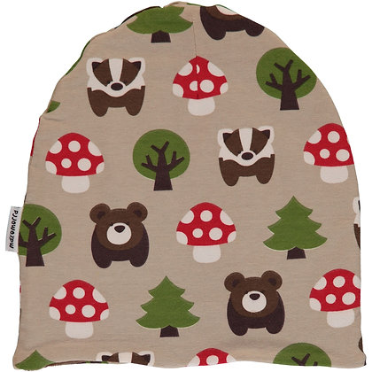 MAXOMORRA organic Hat (Velour Lining) | Forest