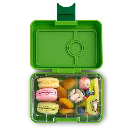Yumbox MiniSnack lunchbox Go Green (Avocado)