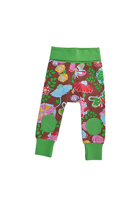 MOROMINI organic Baby Pants | Flower Power