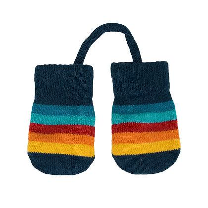 VILLERVALLA Baby Glove (0-1 year) | Multistripe Marina