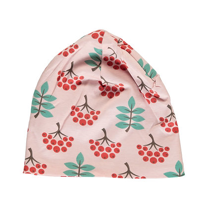 MAXOMORRA organic Hat (Velour Lining) | Ruby Rowanberry