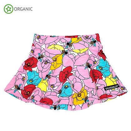 VILLERVALLA organic Circle Skirt Poppy | Azalea