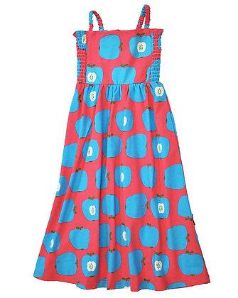 MOROMINI organic Sun Dress | Apple Pink