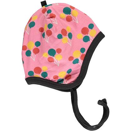 MAXOMORRA organic Helmet Hat (Velour Lining) | Party Balloon