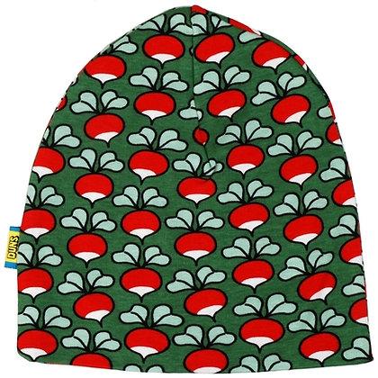 DUNS Sweden organic Double Layer Hat Radish   Green