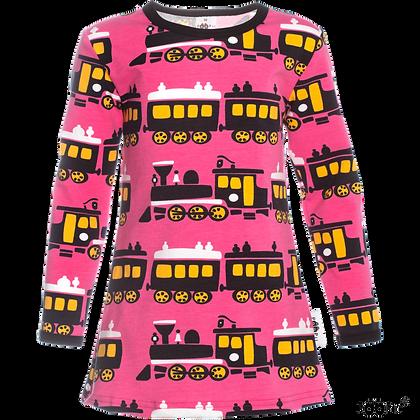PaaPii VIENO organic Long Sleeve Tunic, Train   Pink