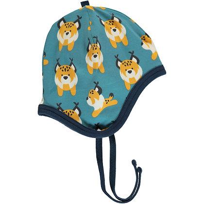 MAXOMORRA organic Helmet Hat (Velour Lining)   Lively Linx