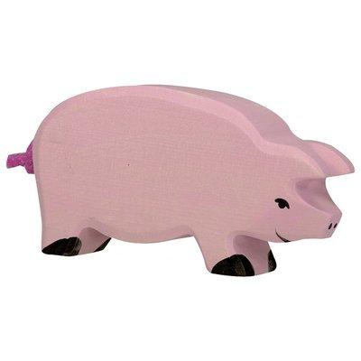 HOLZTIGER Pig, Head Down