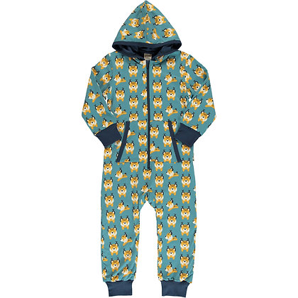 MAXOMORRA organic One Piece Suit with Hood | Lively Linx