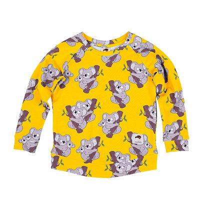 MULLIDO organic Sweatshirt | Yellow Koala