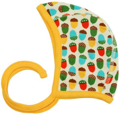 DUNS Sweden organic Bonnet Hat   Small Acorns