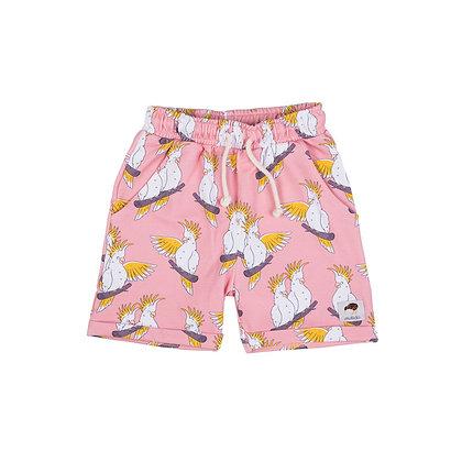 MULLIDO organic Shorts   Pink Cockatoo