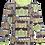 Thumbnail: PaaPii ULJAS organic Long Sleeve Top, Old Town | Apple and Yellow