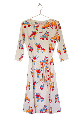 MOROMINI Ladies A-line Dress | Roller Disco