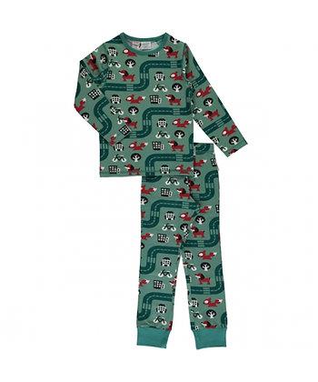 MAXOMORRA organic Pyjama Set Long Sleeve | Big City