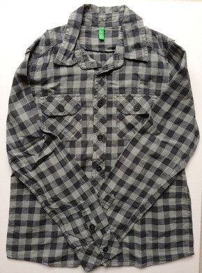 UNITED COLORS OF BENETTON PreLoved chequered shirt | 10-11 years