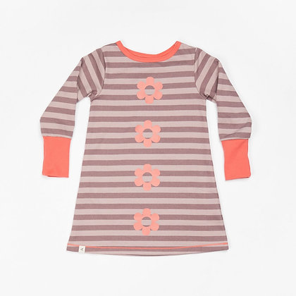 ALBA of Denmark Line Dress | Quail Striped