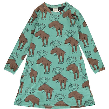 MAXOMORRA organic Long Sleeve Dress | Mighty Moose