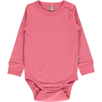 MAXOMORRA organic Long Sleeve Body | Rose Pink