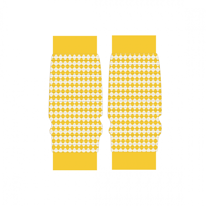 ALBA of Denmark Lea Legwarmers | Nugget Gold Tiles