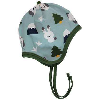MAXOMORRA organic Helmet Hat (Velour Lining)   Winter World