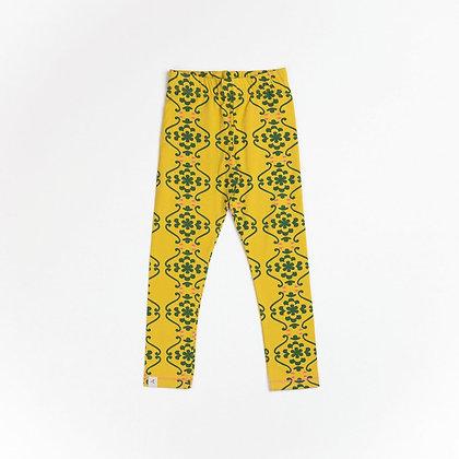 ALBA of Denmark Haniella Leggings | Ceylon Yellow Nostalgia Flowertiles