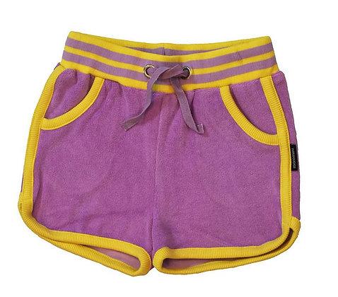 MOROMINI organic Retro Running Shorts (Terry)   Purple