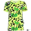 Thumbnail: PaaPii VISA organic Short Sleeve Top Peas | Apple and Green