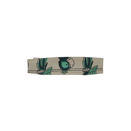 MAXOMORRA organic Hairband | Parrot