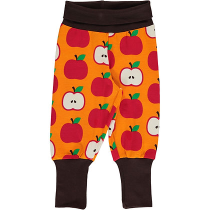 MAXOMORRA organic Rib Pants | Classic Apple