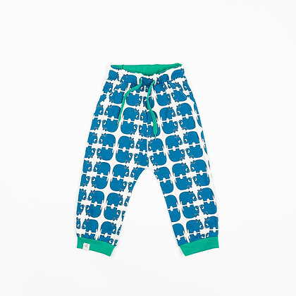 ALBA of Denmark Lucca Baby Pants | Snorkel Blue Wanna be an Animal