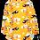 Thumbnail: PaaPii VIENO organic Long Sleeve Tunic, Propeller   Sun & Orange