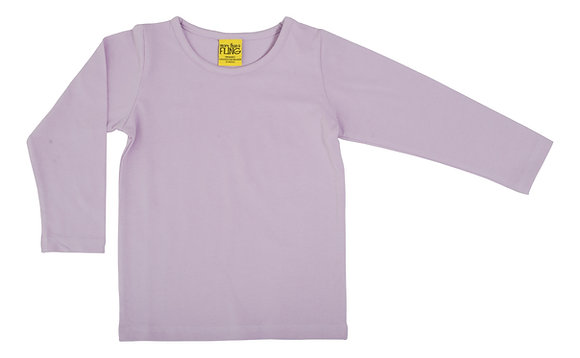 DUNS More Than a Fling organic Long Sleeve Top | Orchid Bloom