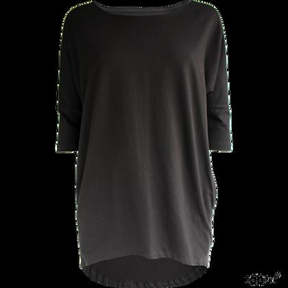 PaaPii SADE organic Adult Shirt | Black