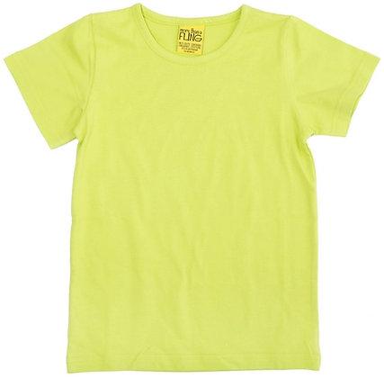 DUNS More Than a Fling organic Short Sleeve Top   Lime