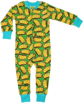 DUNS Sweden organic Zip Suit Cheese Sandwich | Green