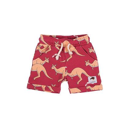 MULLIDO organic Shorts | Red Kangaroo