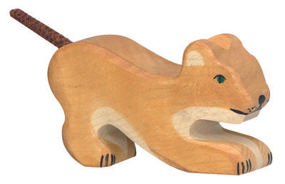 HOLZTIGER Lion Cub, Playing