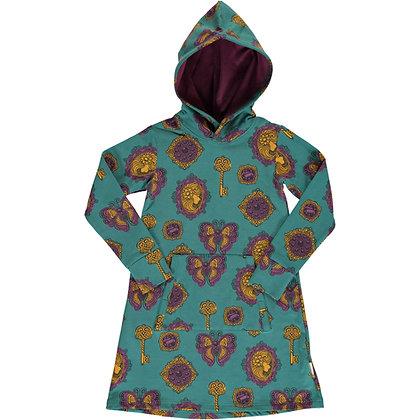 MAXOMORRA organic Long Sleeve Dress Hoodie Sweat | Vintage Treasures